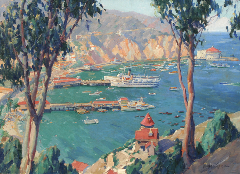Avalon bay catalina island duncan gleason vallejo demo for Catalina bay
