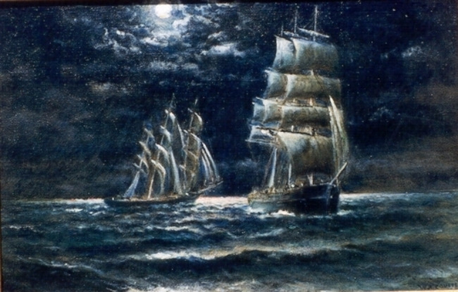 Ships That Pass In The Night William A Coulter Vallejo Demo