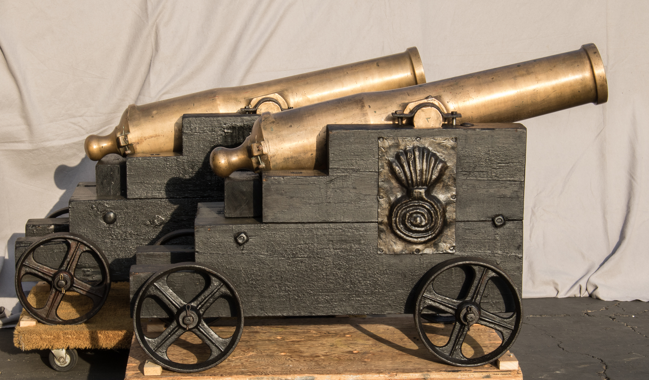 Miller Wagon And Cannon